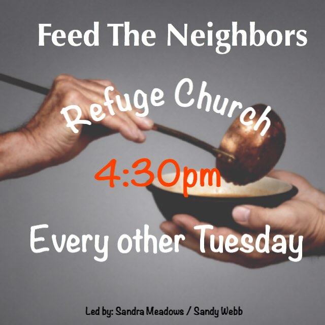 Refuge Church Feed the Neighbors