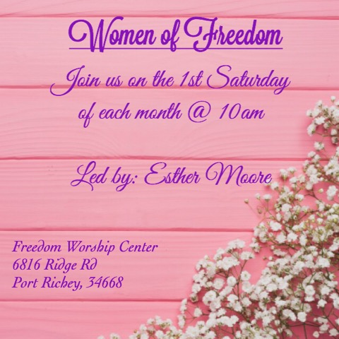 Freedom Worship Center Women New Port Richey