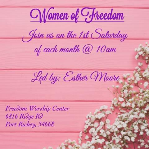 Freedom Worship Center Women New Port Richey