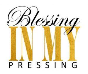 Bobby Webb Blessing In My Pressing